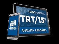 Apostila Analista Judiciário TRT - SP (15ª Região)