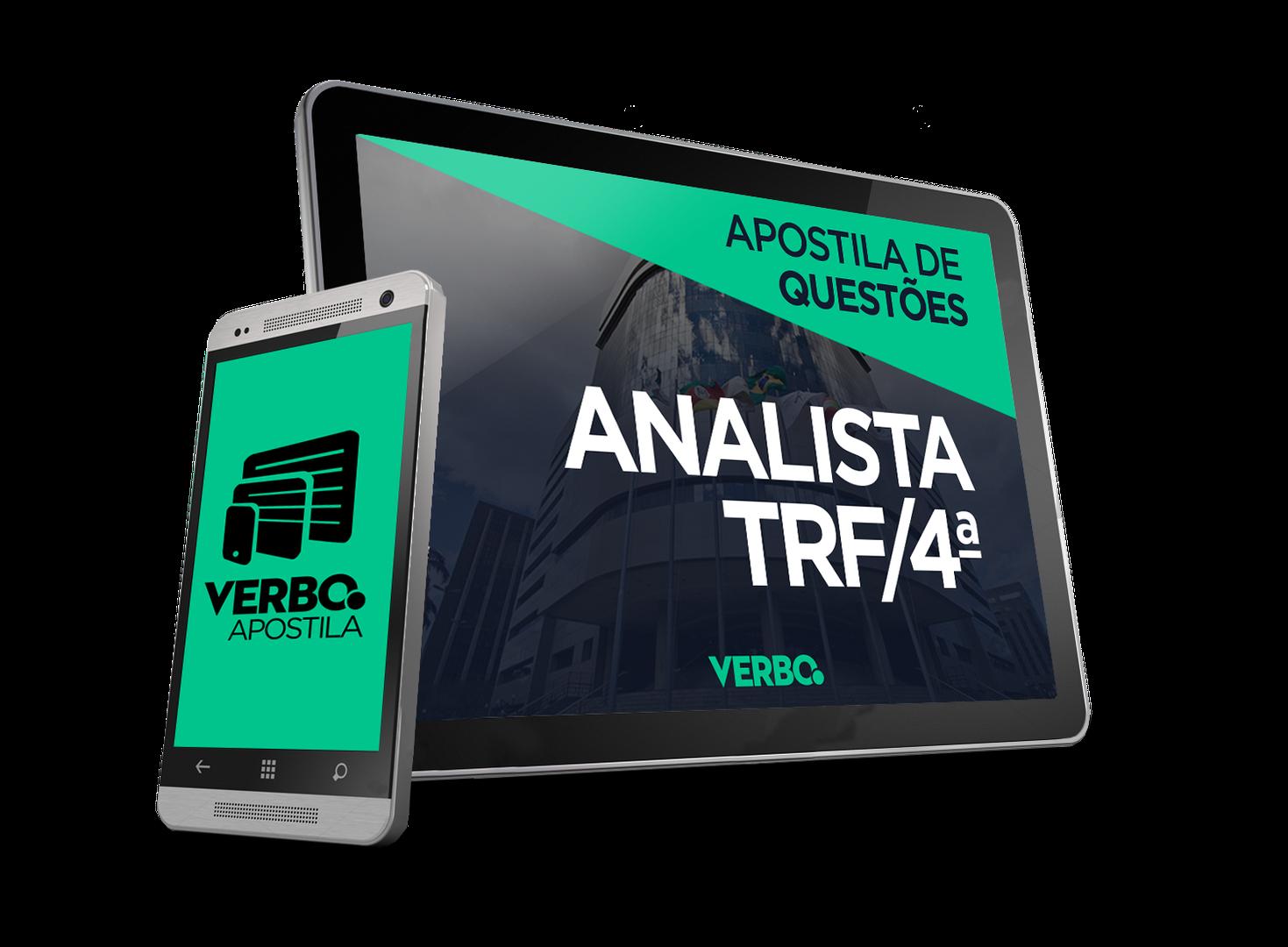 Apostila de Questões - Analista Judiciário TRF 4ª Região