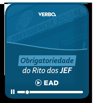 Obrigatoriedade Do Rito Dos JEF - Ead