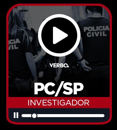 Investigador de Polícia Civil - SP