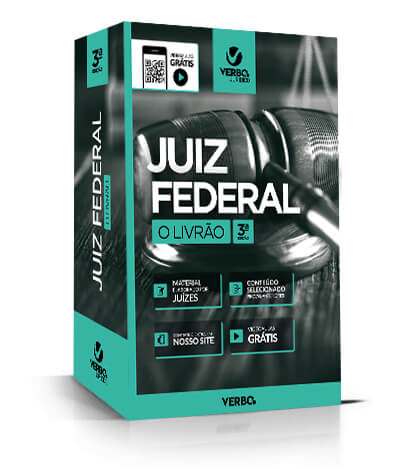 JUIZ FEDERAL O  LIVRÃO 3ª ed 2018