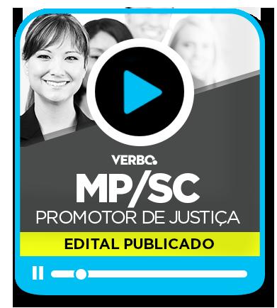Promotor de Justiça - MP/SC
