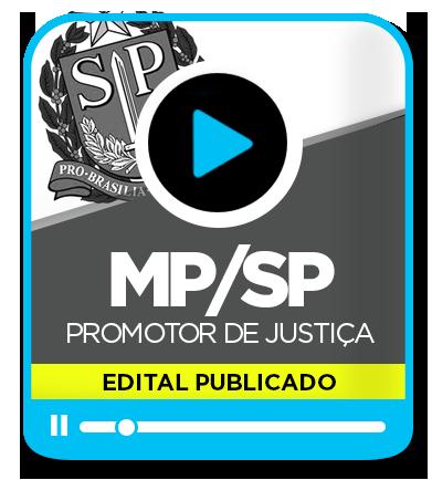 Promotor de Justiça - MP/SP