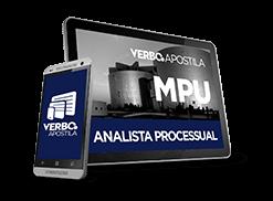 Apostila MPU - Analista Processual