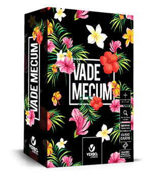VADE MECUM FLORAL BLACK 2018 - Interativo com videoaulas